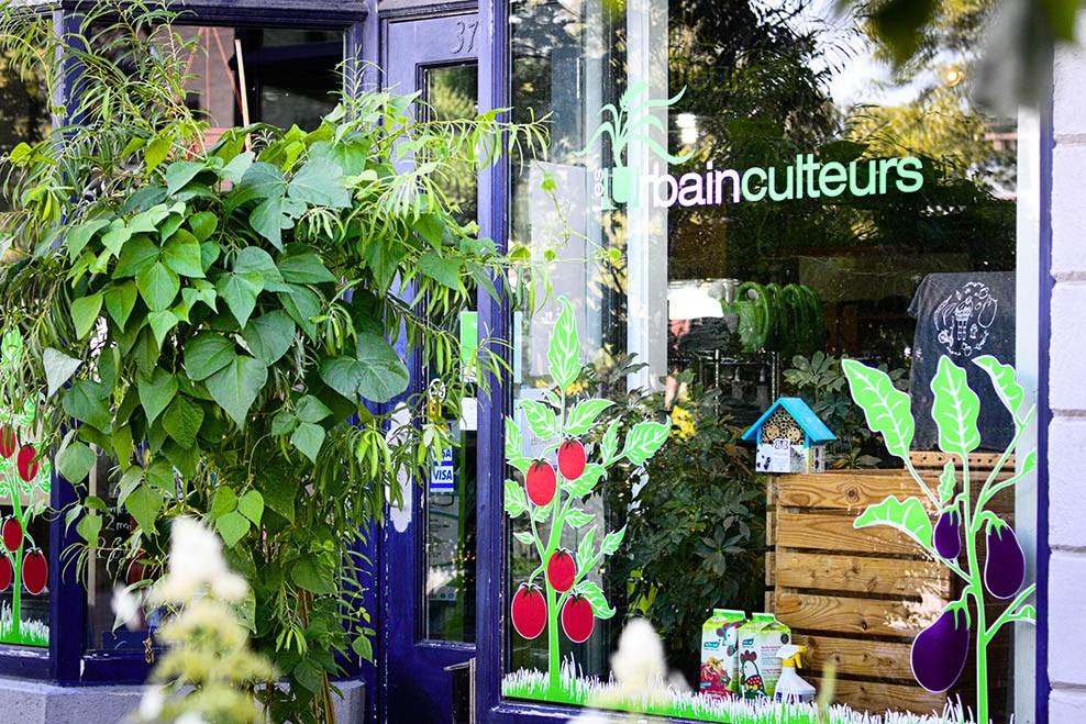 Boutique de jardinage des Urbainculteurs à Québec